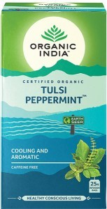 Organic India Tulsi Peppermint Tea 25Teabags