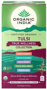 Organic India Tulsi True Wellness Collection 25Teabags