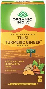 Organic India Tulsi Turmeric Ginger Tea 25Teabags