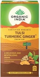 Organic India Tulsi Turmeric Ginger Tea 25Teabags