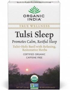Organic India Wellness Tulsi Sleep Tea 18Teabags