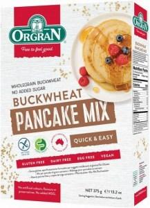 Orgran Buckwheat Pancake Mix 375gm