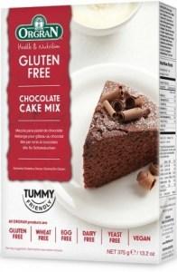 Orgran Chocolate Cake Mix 375gm