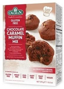Orgran Chocolate Caramel Muffin Mix  375g