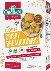 Orgran Corn Crispy Breadcrumbs 300g