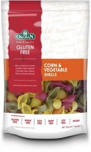 Orgran Corn & Vegetable Pasta Shells 250gm