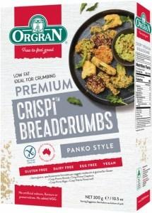 Orgran Crispi Premium Breadcrumbs 300g