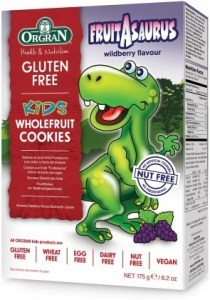 Orgran Kids Fruitasaurus Wildberry Wholefruit Cookies 175g
