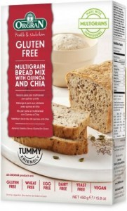 Orgran Multigrain Bread Mix with Quinoa & Chia 450g