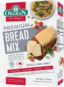 Orgran Premium Bread Mix  450g
