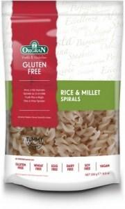 Orgran Rice & Millet Spirals 250gm