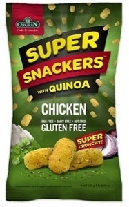 Orgran Super Snackers with Quinoa Chicken 90g