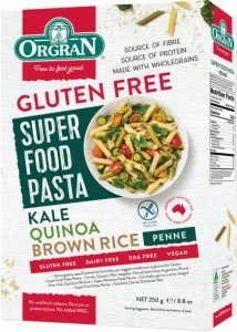 Super Food Pasta Penne Kale Quinoa & Brown Rice