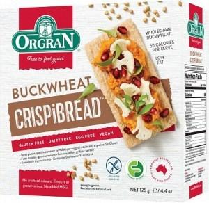 Orgran Buckwheat Crispibread 125g