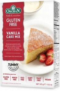 Orgran Vanilla Cake Mix 375gm