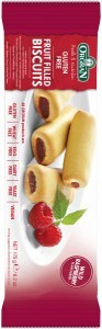 Orgran Wild Raspberry Fruit Filled Biscuits 175gm