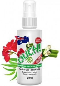 Ouch Organic Personal Outdoor Spray 20ml