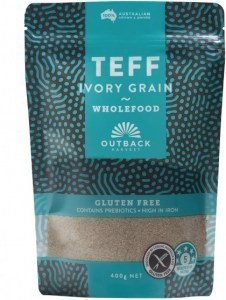 Outback Harvest Teff Ivory Grain Wholefood 400g