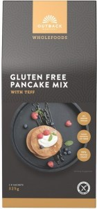 Outback Harvest Wholefoods Gluten Free Pancake Mix w/Teff 325g