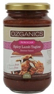 Ozganics Moroccan Spicy Lamb Tagine  375g