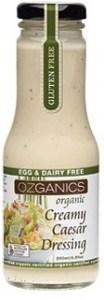 Ozganics Organic Creamy Caesar Dressing 250ml