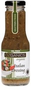 Ozganics Organic Italian Dressing 250ml