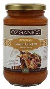 Ozganics Organic Moroccan Lemon Chicken 375g