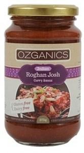 Ozganics Organic Rogan Josh Sauce  375g