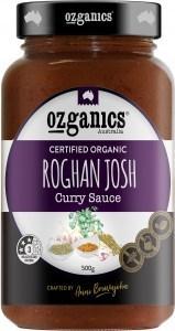 Ozganics Organic Rogan Josh Sauce  500g