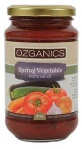 Ozganics Organic Spring Vegetable Pasta Sauce 375g
