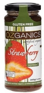 Ozganics Organic Strawberry Spread 300g