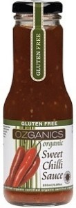 Ozganics Organic Sweet Chilli Sauce 250ml