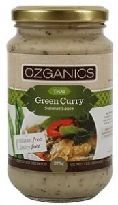 Ozganics Organic Thai Green Curry Sauce  375g