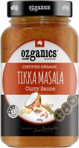 Ozganics Organic Tikka Missala Sauce  500g