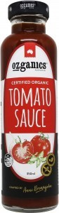 Ozganics Organic Tomato Sauce  350mL