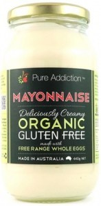 Ozganics Pure Addiction Organic Mayonnaise Gluten Free 440g