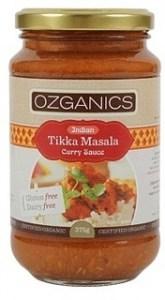 Ozganics Tikka Masala Sauce 375g