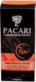 Pacari Raw DrkChoc Covered Gldn Berrie 57g