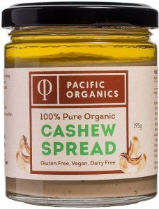 Pacific Organics Cashew Nut Butter 195g