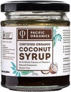 Pacific Organics Coconut Syrup 200g