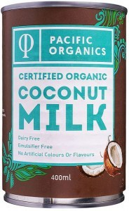 Pacific Organics Organic Coconut Milk  400ml