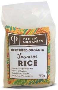 Pacific Organics Organic Rice Jasmine 750g Pouch