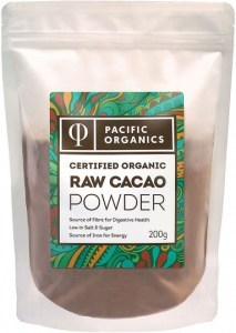 Pacific Organics Raw Cacao Powder 200g