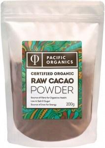 Pacific Organics Raw Cacao Powder 200g