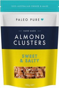 Paleo Pure Almond Cluster Sweet & Salty 100g
