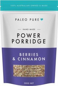 Paleo Pure Organic Power Porridge with Berries & Cinnamon 300g