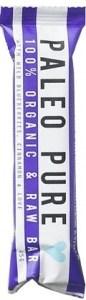 Paleo Pure Organic Raw Bars with Blueberries & Cinnamon 12x45g