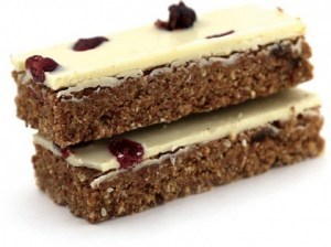 Pantry & Larder Raw Treats Cranberry & Coconut Slices  100g (Box of 15)