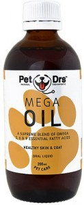 Pet Drs Mega Oil 200ml