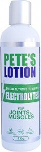 Petes Lotion with Electrolytes for Joints & Muscles 230g